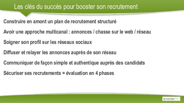 comment optimiser et booster son recrutement