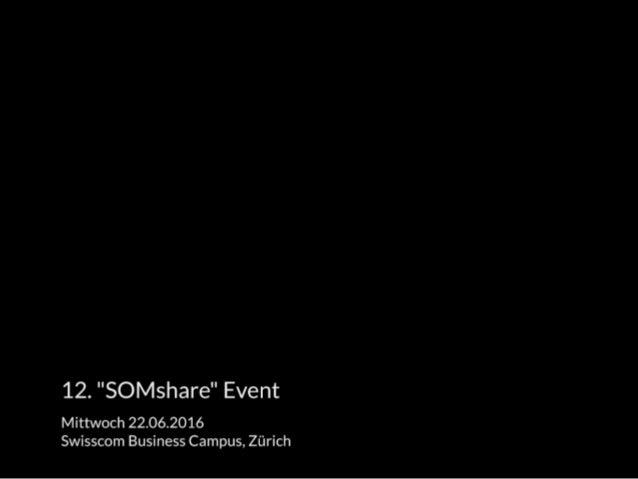 «SOMshare» 22.6.2016: «4 Likes für ein Hallelujah / Risiken und Nebenwirkungen»