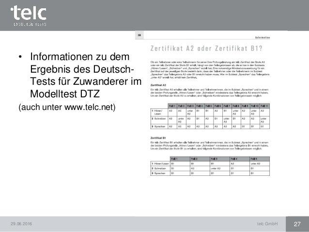 Dtz b1 modelltest online dating 2