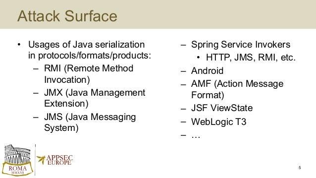 Surviving the Java Deserialization Apocalypse // OWASP