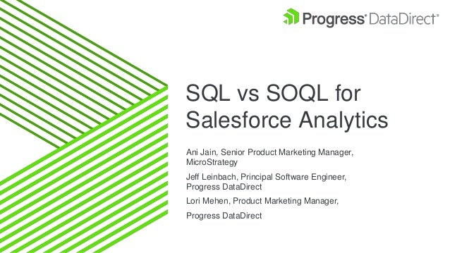 SQL vs SOQL for Salesforce Analytics