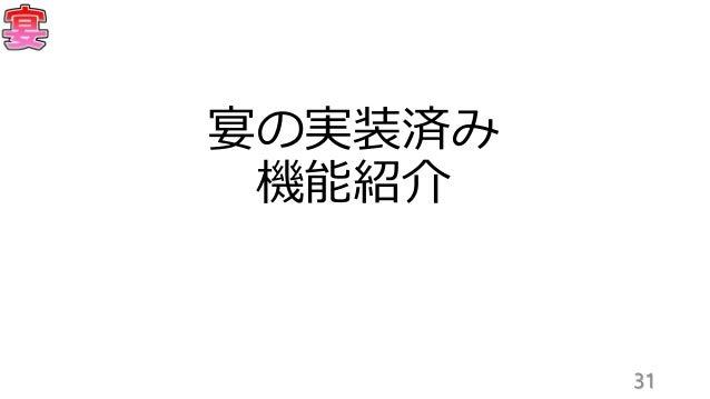 「宴」まとめ(2016年7月23UniBoookLT大会)