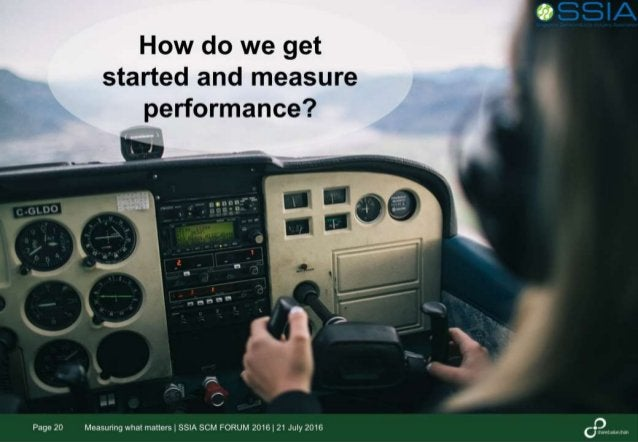 New Metrics, New Opportunities - Measuring what matters