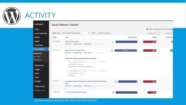 ACTIVITY https://wordpress.org/plugins/social-metrics-tracker/screenshots/