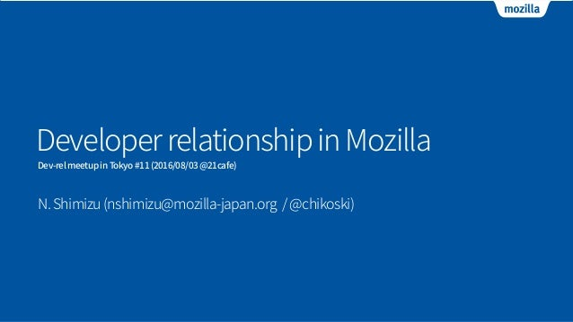 Proudly non-profit, Mozilla makes products like Firefox with a mission to keep the power of the Web in the hands of users ...