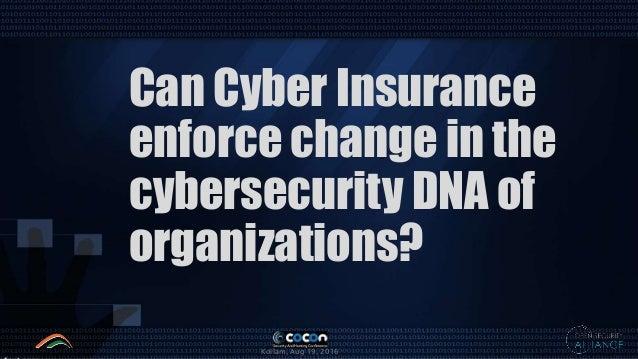 Can Cyber Insurance Enforce Change in Enterprise GRC Slide 3