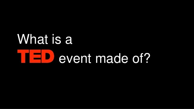 TEDx events as a new paradigm for corporate communications