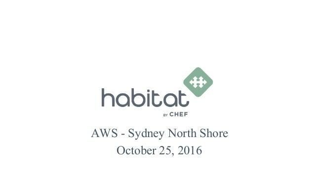 AWS - Sydney North Shore October 25, 2016