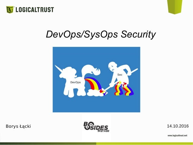 DevOps/SysOps Security 14.10.2016Borys Łącki