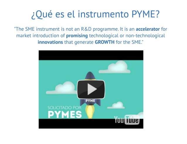20161025 Burgos Instrumento PYME de H2020 Slide 2