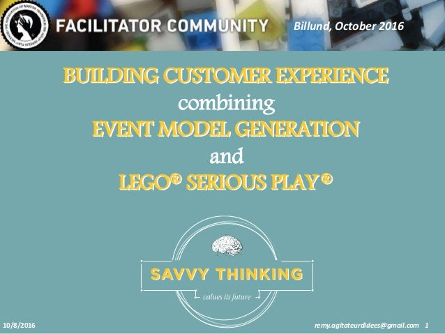 201610 Building A Wow Customer Experience Using Event Model Generatio