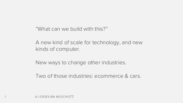"7 ""What can we build with this?"" A new kind of scale for technology, and new kinds of computer. New ways to change other i..."