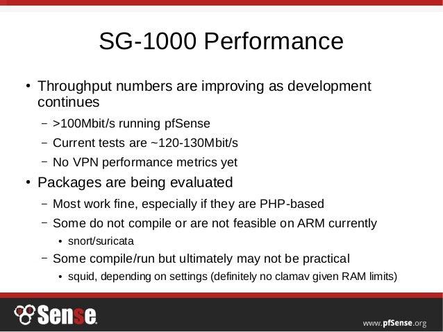 pfSense 2 4 and SG-1000 Preview - pfSense Hangout November 2016