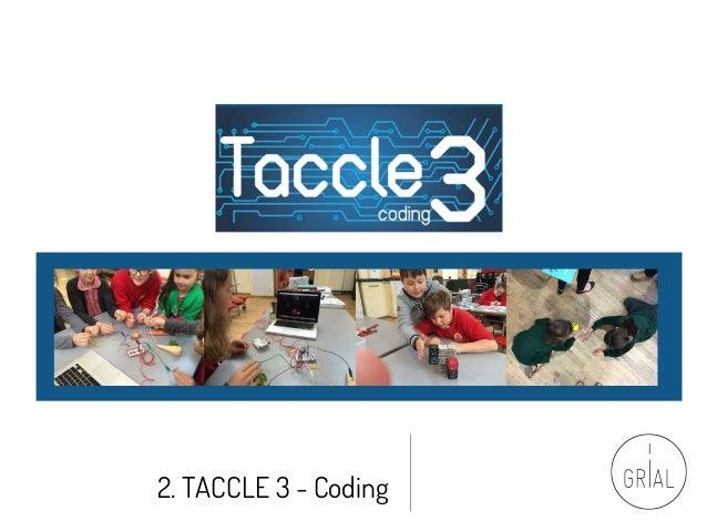 2. TACCLE 3 - Coding