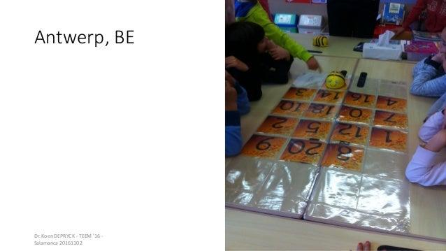 Antwerp, BE Dr. Koen DEPRYCK - TEEM '16 - Salamanca 20161102 3