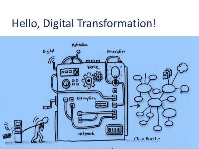 Hello, Digital Transformation! Clara Roethe