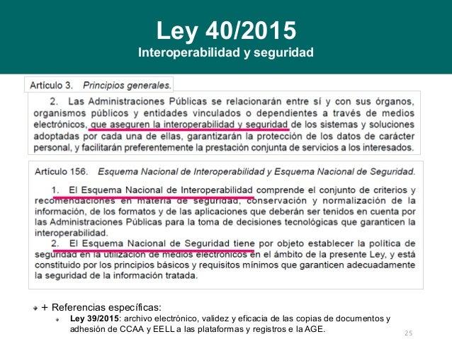 Impacto De Las Leyes 39 2015 Y 40 2015 En Las Tecnologías De La Infor