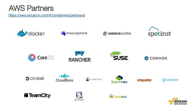 AWS Partners https://aws.amazon.com/fr/containers/partners/