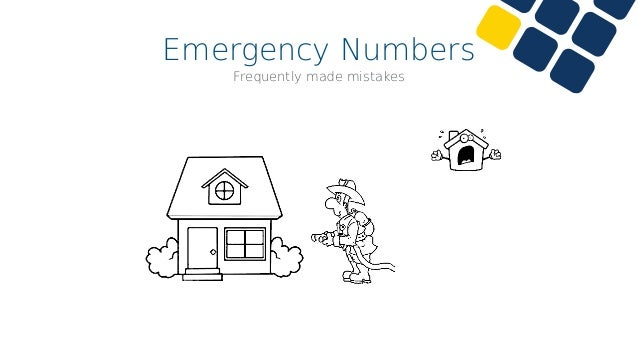 Emergency Numbers Correct setup •Never set up emergency numbers as internal extensions! 123 456