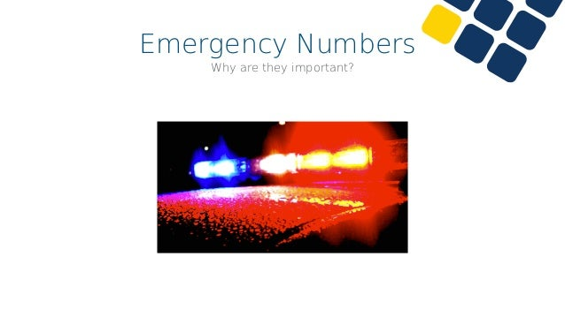 Emergency Numbers •Users need to be able to easily call for help •Especially in panic situations •AskoziaPBX needs to know...