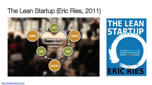 The Lean Startup (Eric Ries, 2011)  http://theleanstartup.com