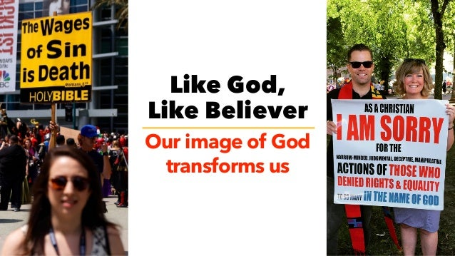 GOD 5.0 WE BELIEVE THAT OUR IMAGE OF GOD TRANSFORMS US A Journey of Learning New & Deeper Expressions of Love Move from th...