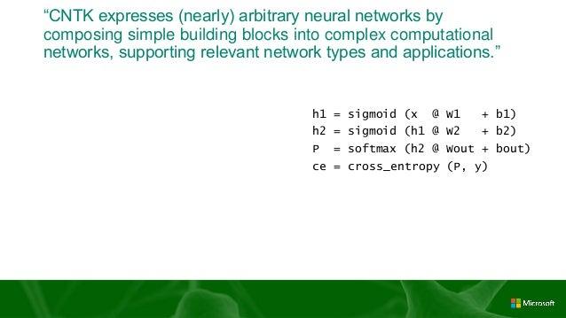 [html5jロボット部 第7回勉強会] Microsoft Cognitive Toolkit (CNTK ...