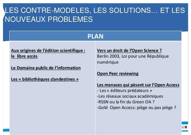 DOCUMENTATION ELECTRONIQUE EN BU : LES CONTRE-MODELES, LES SOLUTIONS… ET LES NOUVEAUX PROBLEMES Slide 2