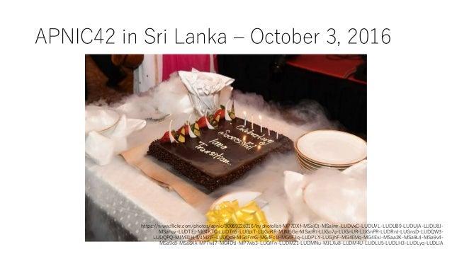 APNIC42 in Sri Lanka – October 3, 2016 https://www.flickr.com/photos/apnic/30069228216/in/photolist-MP7DXf-MSajCt-MSajmr-L...