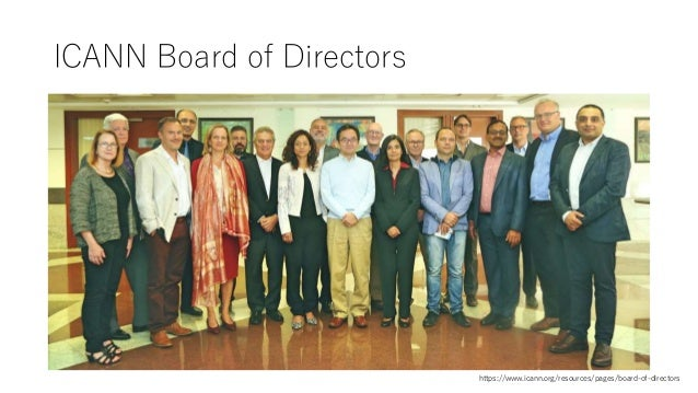 ICANN Board of Directors https://www.icann.org/resources/pages/board-of-directors