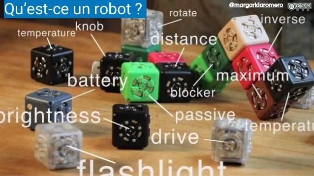 Des robots et de la programmation ○ Programmation avec ○ logiciel propriétaire (WeDo, NXT) ○ ou Scratch, logiciel de progr...