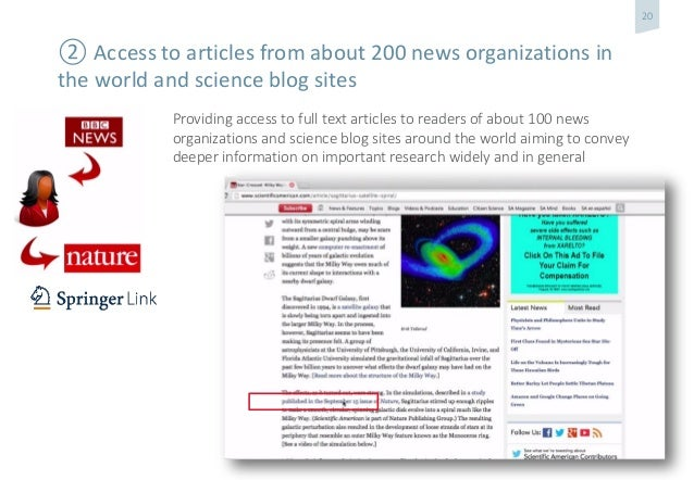 SpringerNature and its sharing strategy on ReadCube