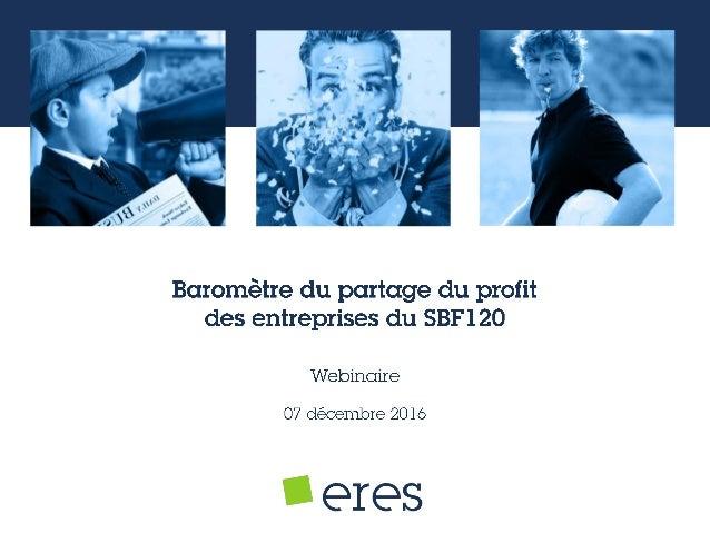 Eres prend la parole depuis 2005 Document établi par Eres 2  Epargne Retraite Et Salariale  Argus des FCPE  Partage du ...