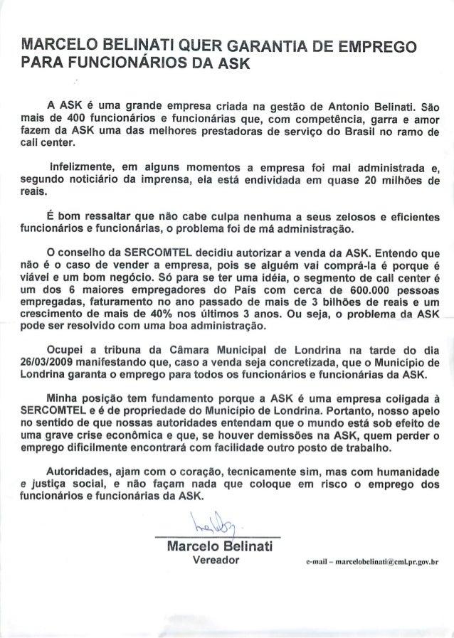 Promessa de Marcelo Belinati