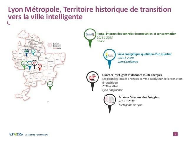 9 Genas Portail internet des données de production et consommation 2016 à 2018 Rhône Suivi énergétique quotidien d'un quar...