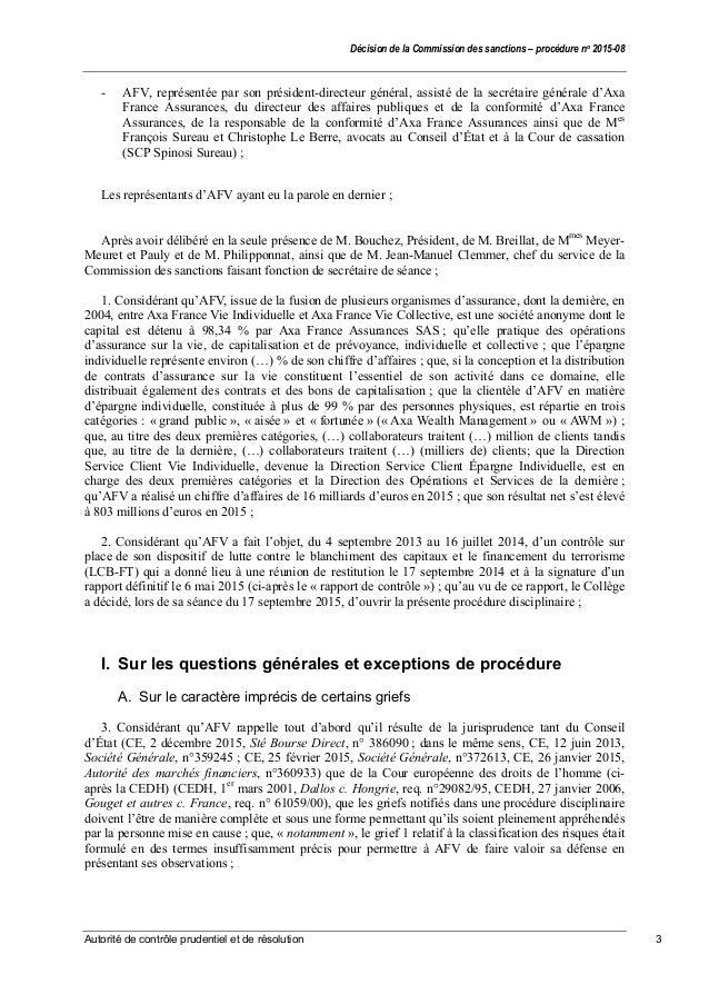 Sanction de 2 5 millions d 39 euros contre axa for Axa service juridique
