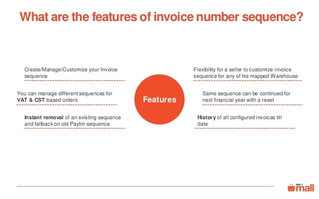 Customize The Invoice Number Sequence