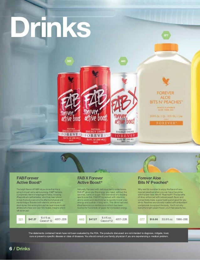 Catalog Forever Living Products