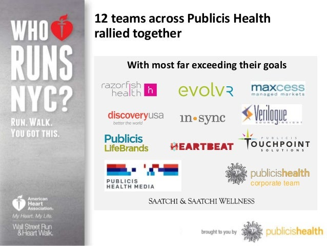 Publicis health american heart association fundraising results fundraising achievements 6 toneelgroepblik Gallery