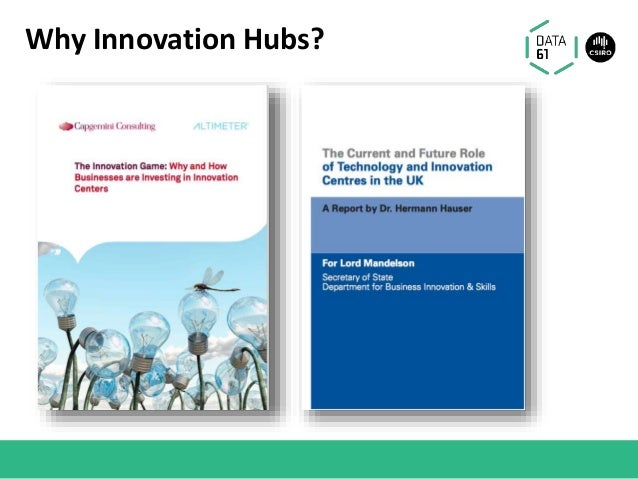 Why Innovation Hubs?