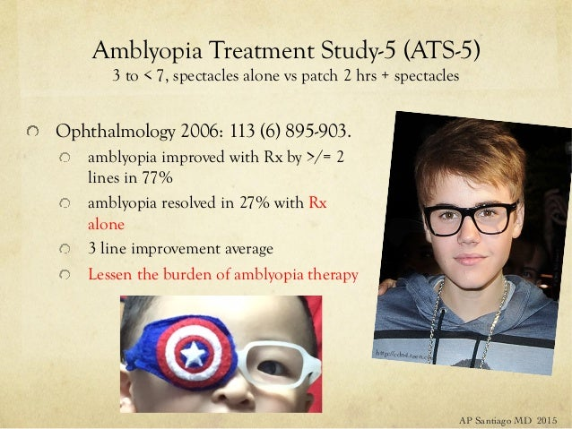 The Amblyopia Treatment Studies - Advances in ...