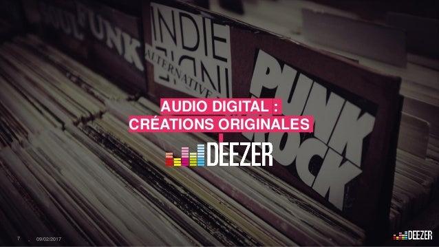 AUDIO DIGITAL : CRÉATIONS ORIGINALES 7 - 09/02/2017