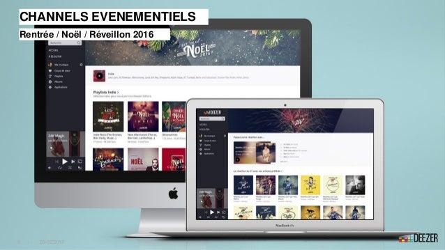 CHANNELS EVENEMENTIELS Rentrée / Noël / Réveillon 2016 9 - 09/02/2017