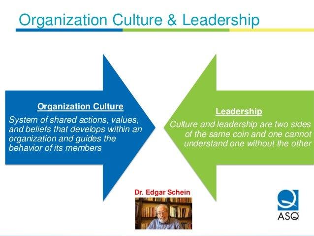 culture and orgainzation