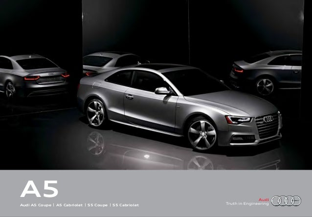 2016 audi a5 brochure audi for sale orange county. Black Bedroom Furniture Sets. Home Design Ideas