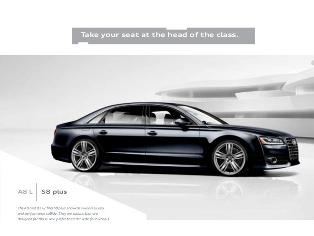 2016 Audi A8 Brochure Wiring Diagrams - Wiring Diagram