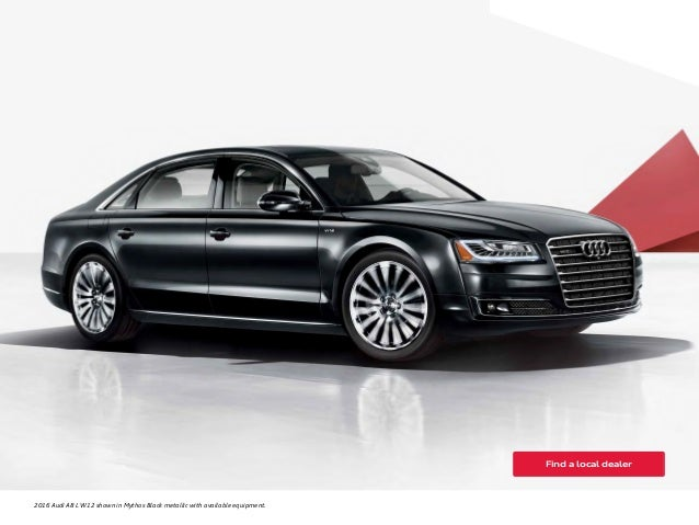 Audi Service Orange County >> 2016 Audi A8 Brochure Wiring Diagrams - Wiring Diagram