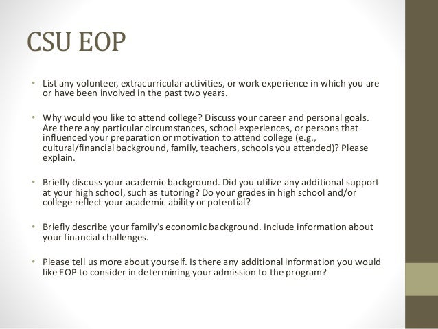 getting to know you the purpose of each college application essay 14