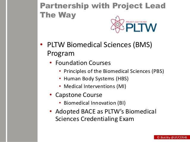 pltw biomedical practice test