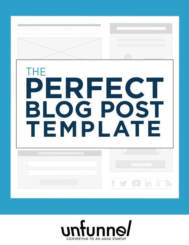 Digital Marketer Increase Engagement Series THE PERFECT BLOG POST TEMPLATE